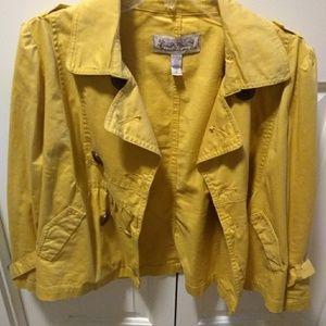Another stylish yellow Women's jacket